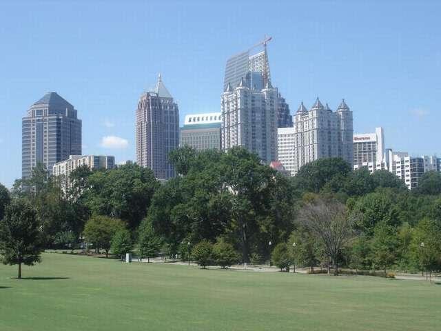 город Атланта