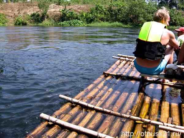 экскурсия по реке Квай
