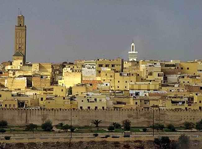 Город Фес Марокко