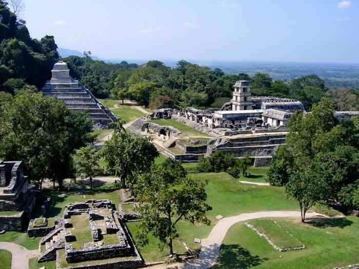 Паленке, древний город майя