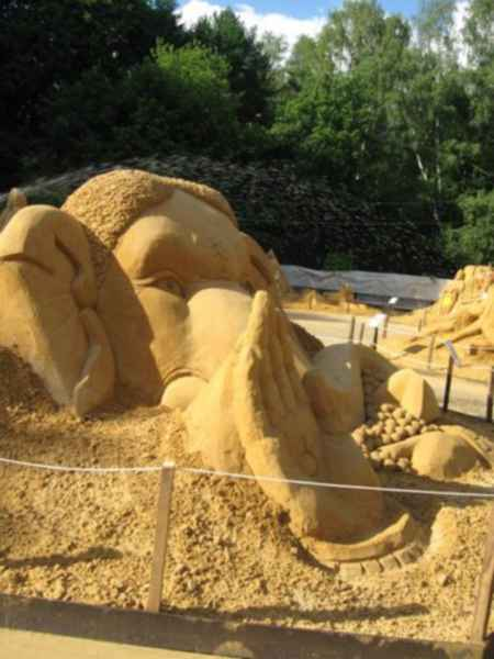 Фестиваль песчаных скульптур