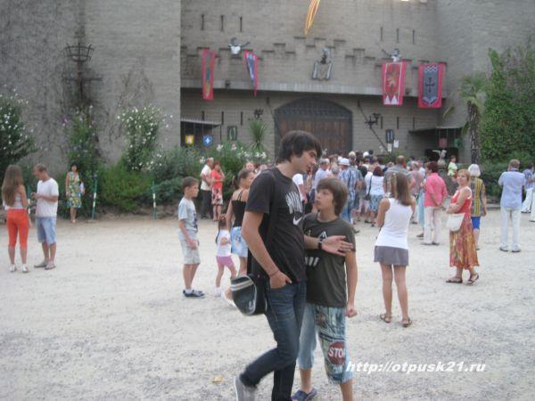 Рыцарский турнир в замке Вальтордер
