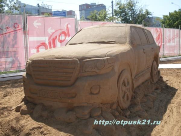 Фестиваль скульптуры из песка в перми