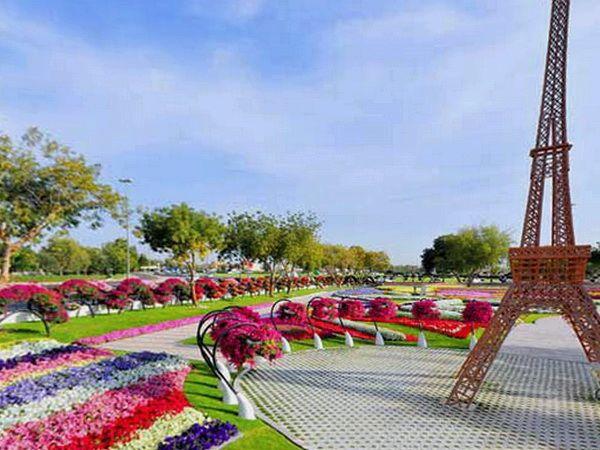 парк цветов Al Ain Paradise