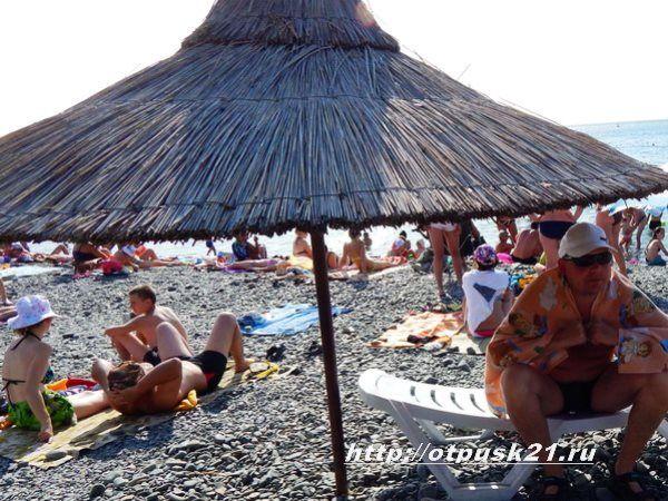 пляж Большой Утриш