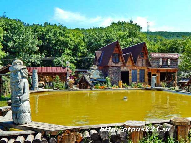 необычный парк, парк «Берендеево царство»