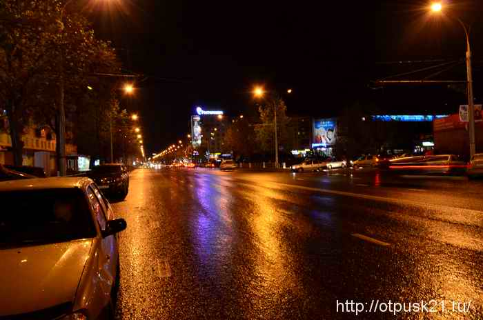 Поющие фонтаны в Перми