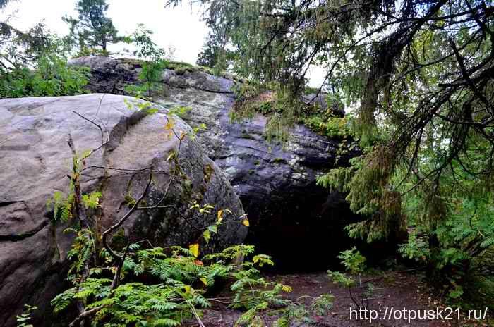 Каменный город, Каменный город Пермский край