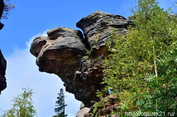 Поездка в Каменный город Пермский край
