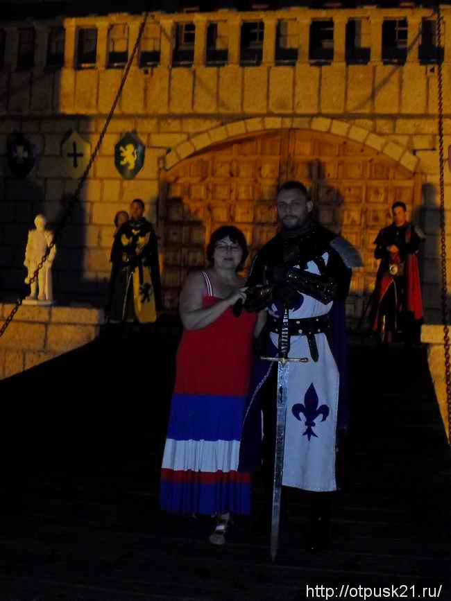 средневековый рыцарский турнир