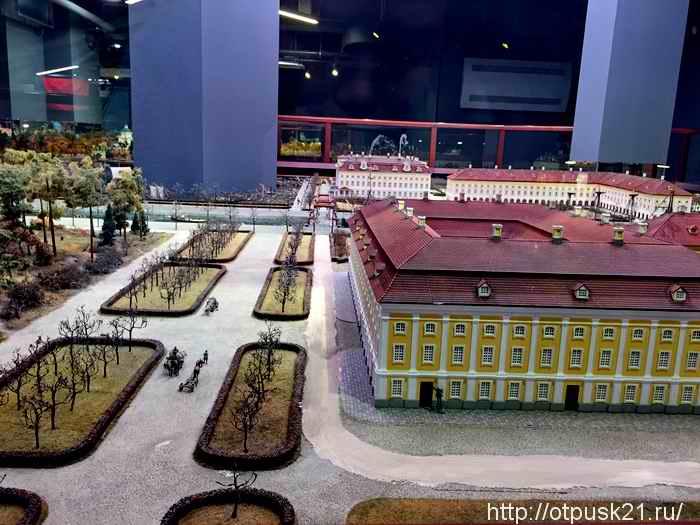 макет Петровская Акватория