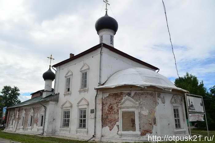 Достопримечательности Вологды. Прогулка от Кремлевской площади до Красного моста
