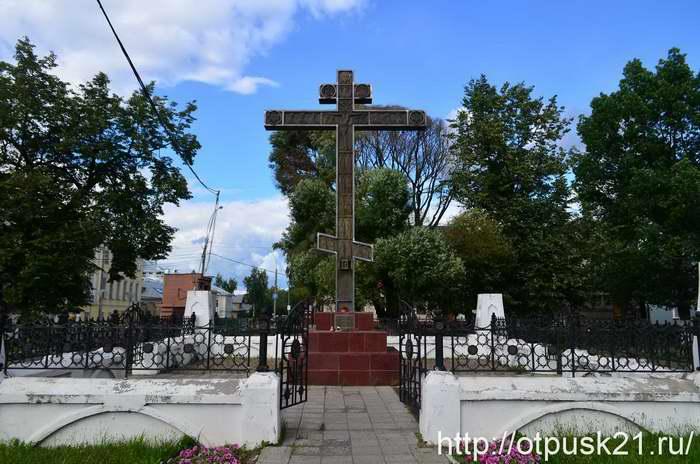 Площадь Революции в Вологде, Поклонный крест