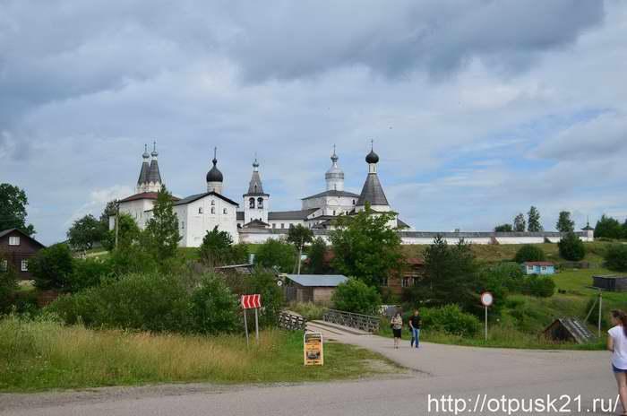 Ферапонтов Белозерский монастырь, Ферапонтов монастырь