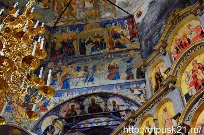 Вологда. Церковь Усекновения главы Иоанна Предтечи в Рощенье